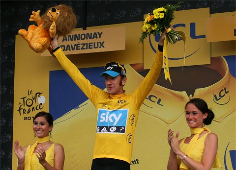 2012_TdF_Stage12_Wiggins Podium