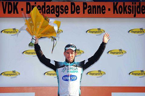2013 3 Days De Panne Podium CavendishTim De Waele