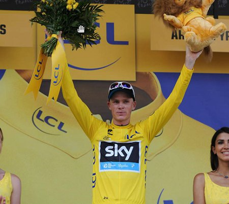 2013_Stage8_TDF_Froome_Yellow