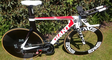 Giant Sl advanced time trial bike 008