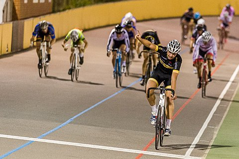 George Withers of AW Cycles makes it a hat-trick of wins with victory in the AW Cycles 20k
