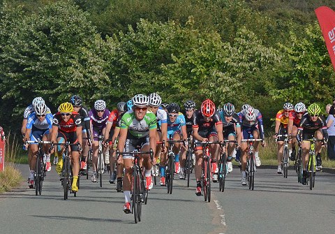 Martin Ford (Herbalife-Leisure Lakes Bikes) wins the sprint for second