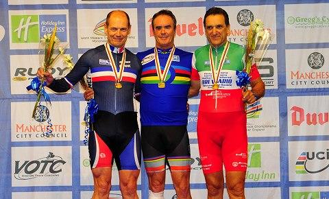 2013 World Masters Mens Sprint 60-64 Podium_Small