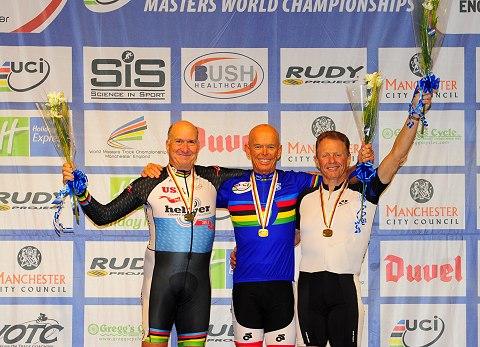 2013 World Masters Mens Sprint 70Plus Podium_Small