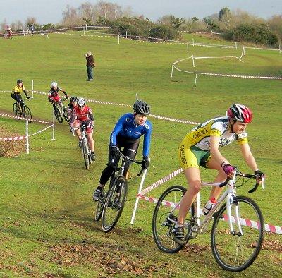 Matthew webber wins latest round of the eastern region cyclo cross