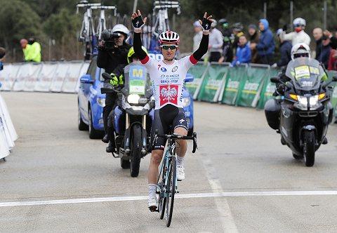 Mallorca Stage 3 KWIATKOWSKI arrival (c) Tim DeWaele