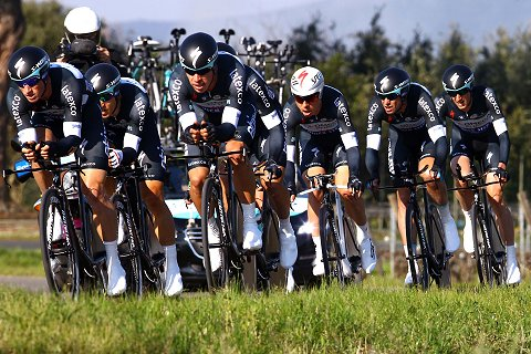 120314 OPQS Tirreno Adriatico Stage 1 TTT TeamOPQS action (c) Tim De Waele