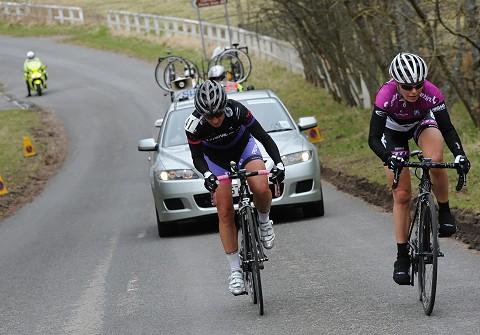Alex Peters wins stage 5 Reservoir