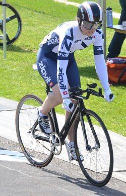 Sophie Capewell U16 winner