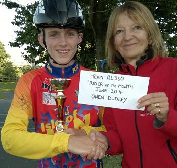 RL360 Award for Owen Dudley