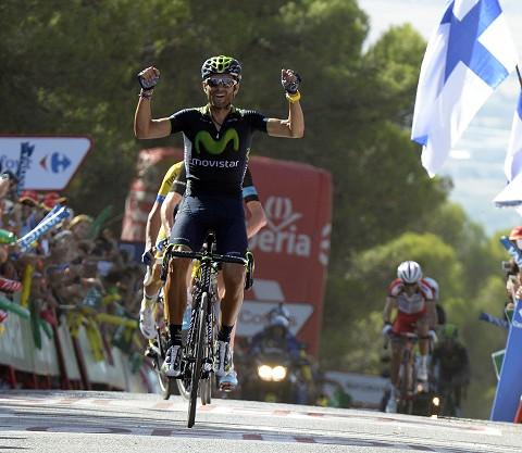 Stage 6 Valverde wins