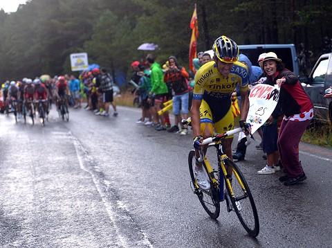 Stage 9. Alberto Contador