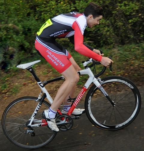 CCS hillclimb Winner Frank Longstaff Oct 2014
