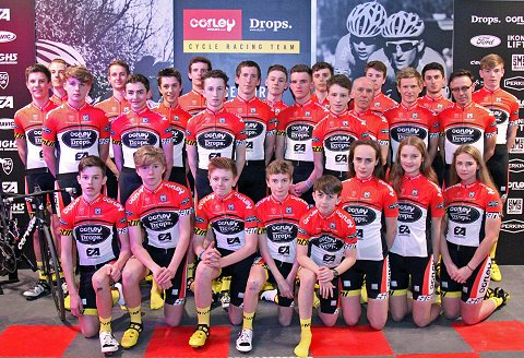 20150314 - Corley Cycles-Drops - 2015 team roster