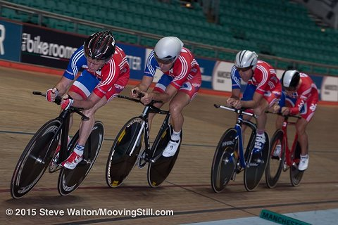 Ian Humphreys world team pursuit