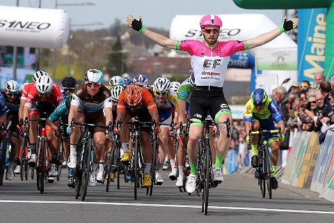 e1d989186 It s the third win of the season for EF Education First – Drapac p b  Cannondale and McLay s first win in  PinkArgyle.